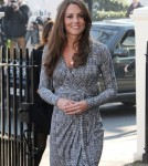 Pregnant Kate Middleton Visits Hope House