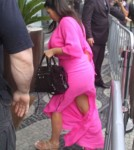 Kim & Kanye Out In Rio De Janeiro