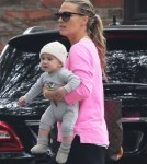 Molly Sims Out And About With Son Brooks