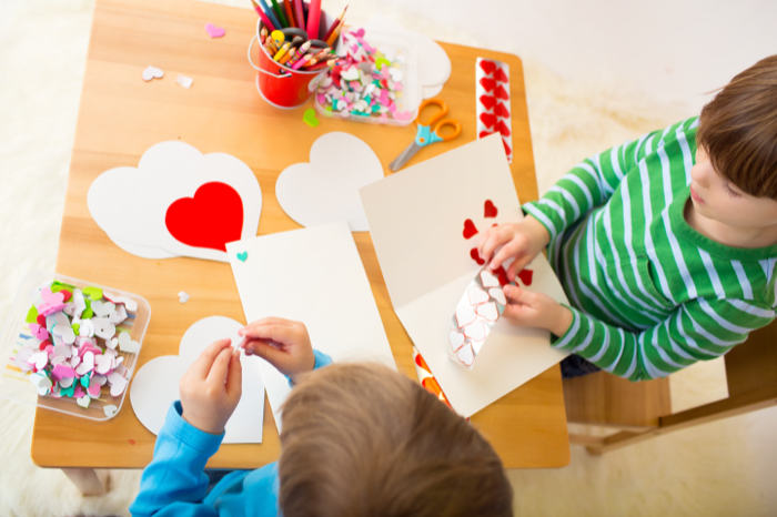 Valentine's Day Fun at Home With Small Children