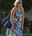 Semi-Exclusive... Pregnant Busy Philipps Dines In West Hollywood
