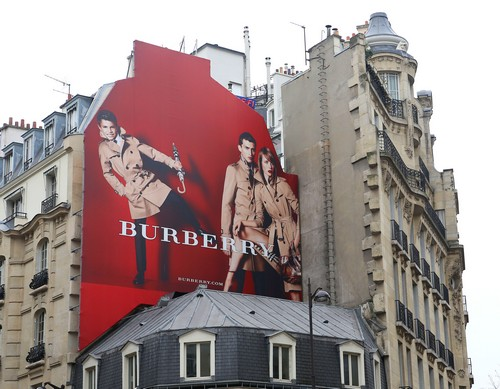 Romeo Beckham Gets A Huge Billboard In Paris (Photos)