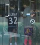 Romeo & Cruz Beckham Stop For Pinkberry