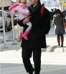 Jason Hoppy Takes His Daughter Byrn For A Walk