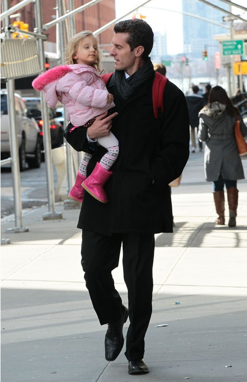 Jason Hoppy And His Daughter Byrn Out In NYC