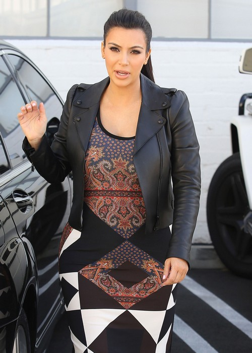 The Kardashian Girls Head To A Studio