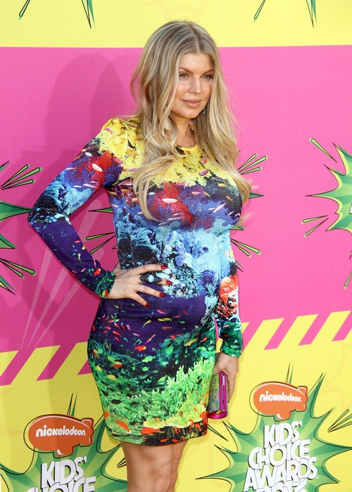 Fergie Says She Is Not Wearing Maternity Wear Yet