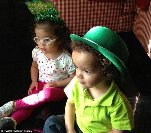 Mariah Carey and Nick Cannon Spent St. Patrick's Day With Their Twins (Photos)