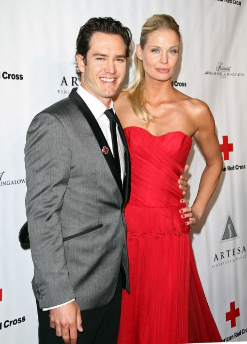 Josh Duhamel and Fergie at The  American Red Cross Annual Red Tie Affair