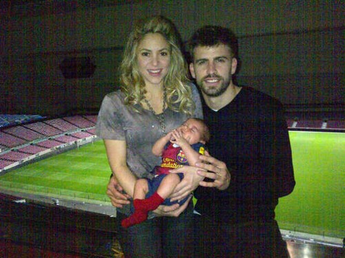 Shakira and Gerard Pique's Son is Bacelona Soccer Star Already