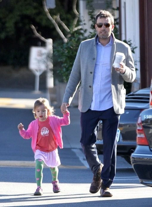 Ben Affleck Has a Father-Daughter Day With Seraphina