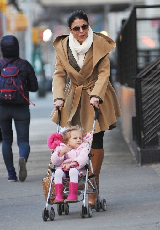 Bethenny Frankel Picks Bryn Up From School