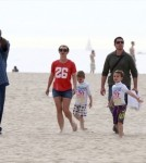 Semi-Exclusive... Britney Spears Plays with Sons Sean and Jayden in Santa Barbara