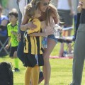 Britney & Kevin Watch Their Sons Soccer Game