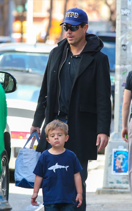 Carson Daly And Family Out And About In NYC