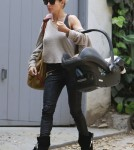 Elsa Pataky Visits A Friend In Hollywood