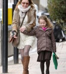 Geri Halliwell Takes Bluebell Out In London