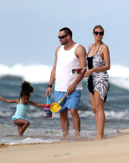 Heidi Klum & Family Enjoy Their Hawaiian Vacation
