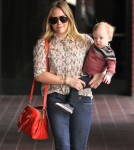 Hilary Duff Takes Luca To Babies First Class