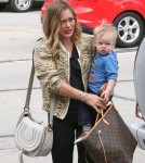 Hilary Duff And Family Stop By Restoration Hardware