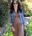 Pregnant Jenna Dewan Visits Her Doctor