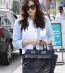 Pregnant Jenna Dewan Shops In LA
