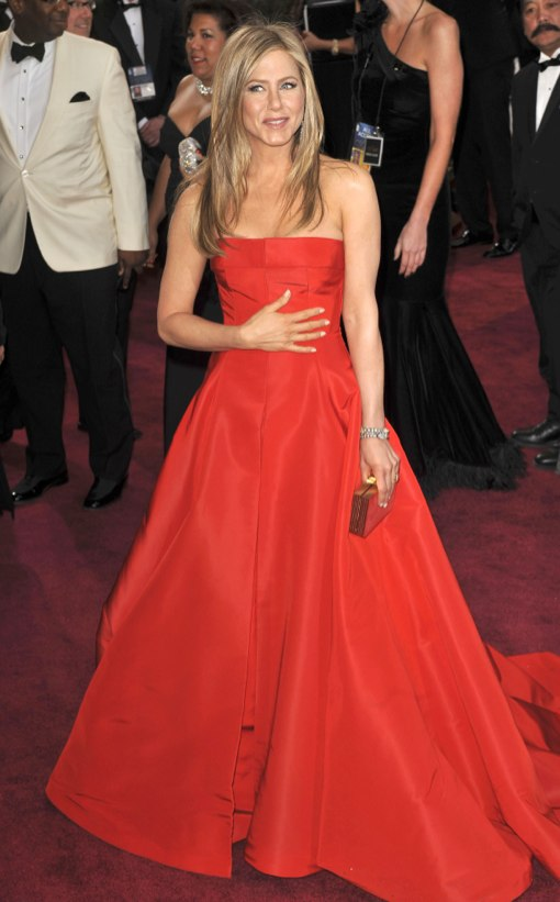 Jennifer Aniston at The 85th Annual Academy Awards in Hollywood