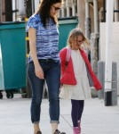 Jennifer Garner Picks Violet Up From School