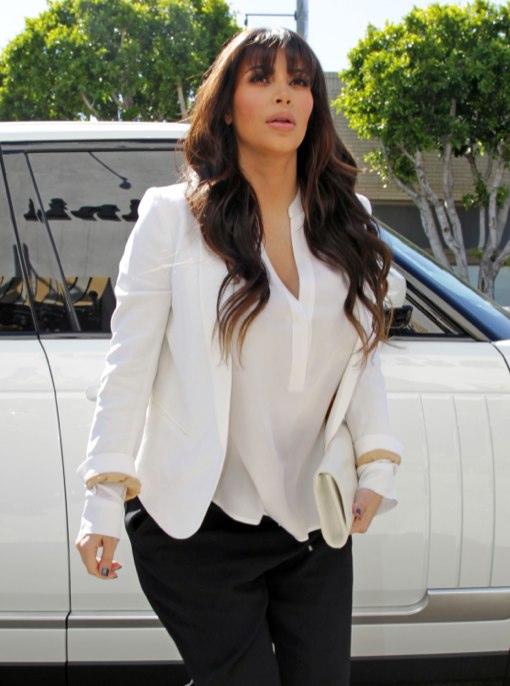 Kim Kardashian Gets Started on her Baby Registry