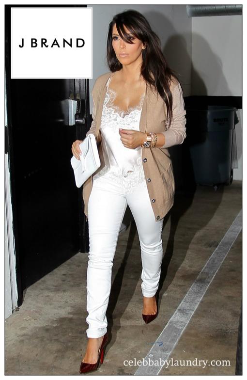 Celebrity Maternity Style: J BRAND Jeans