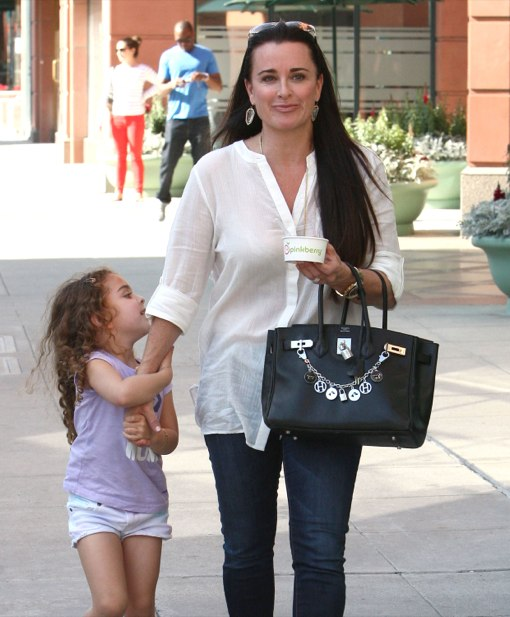 Kyle Richards & Portia: Ice Cream Duo