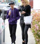 Laura Dern And Her Son Go For Ice Cream