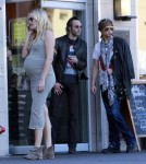 Exclusive... Steven Tyler & Malin Akerman Hang Out In The Same Neighborhood