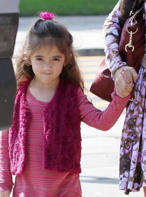 Semi-Exclusive... Salm... Salma Hayek Daughter Down Syndrome