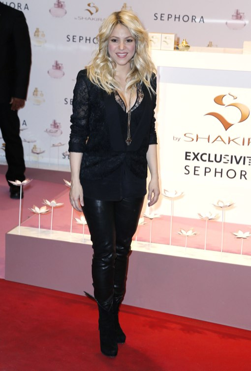 Shakira Debuts Post-Baby Body at Sephora Perfume Launch