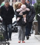 Sienna Miller And Family Out And About In New York