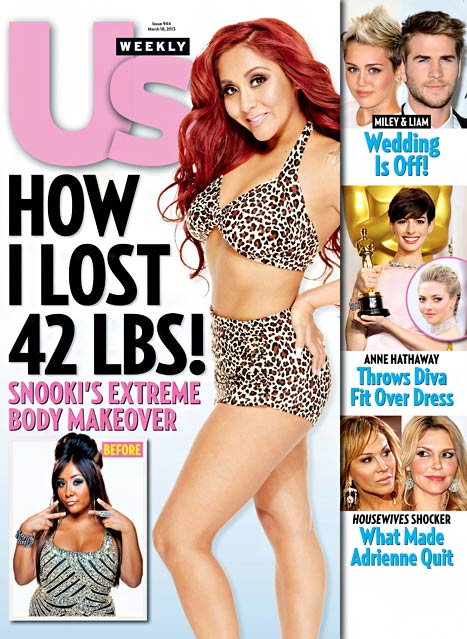 Snooki Debuts Post-Baby 42 Pound Weight Loss