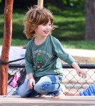 Exclusive... Jordan Bratman Takes Max To The Park