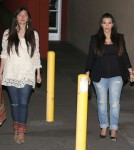 Exclusive... The Kardashian's Attend A Private Party