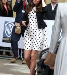 Prince William & Pregnant Kate Visit Warner Bros. Studio