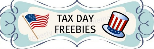Tax Day Freebies: Coupons, Discounts and Free Stuff