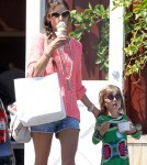 Alessandra Ambrosio & Anja Stop For Ice Cream