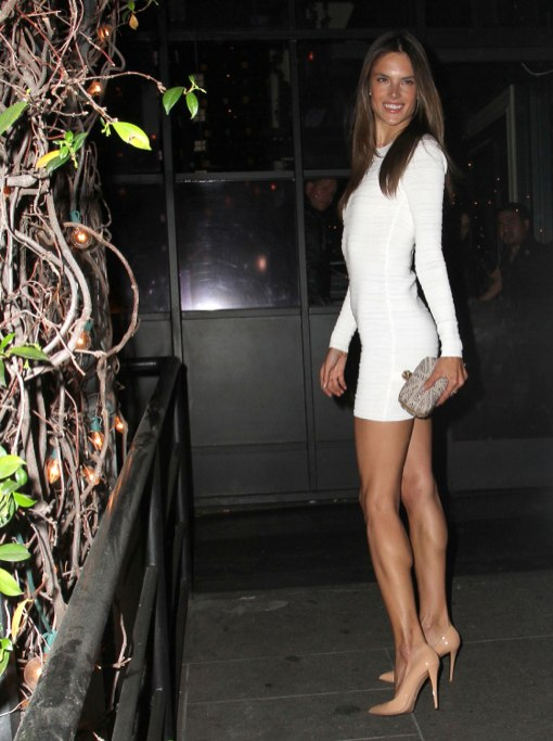 Alessandra Ambrosio Celebrates Her Birthday At Stk