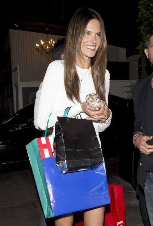 Alessandra Ambrosio Celebrates Birthday With Family