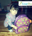 Ava and Her FourPeas Backpack