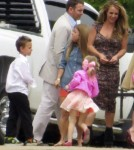 Britney Spears Enjoys Easter Church Service with the Fam