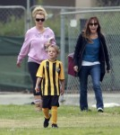 Spears Federline Family Affair at Sean Preston and Jayden's Soccer Game