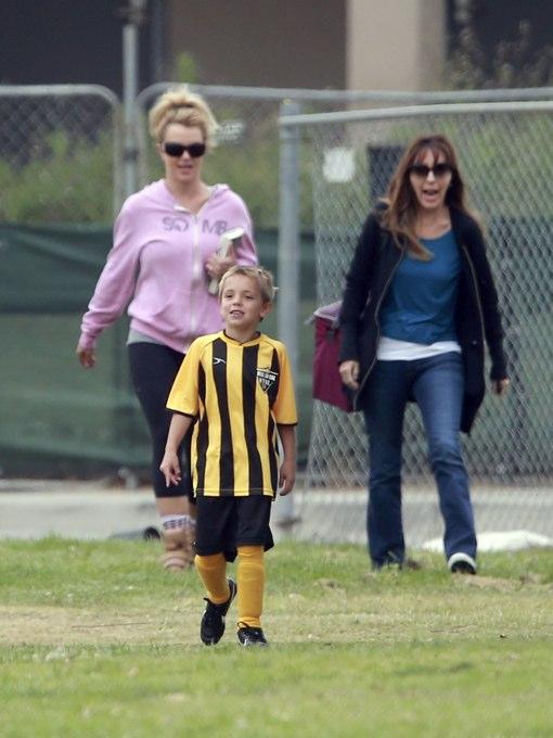 Britney Spears & Kevin Federline: Devoted Soccer Parents