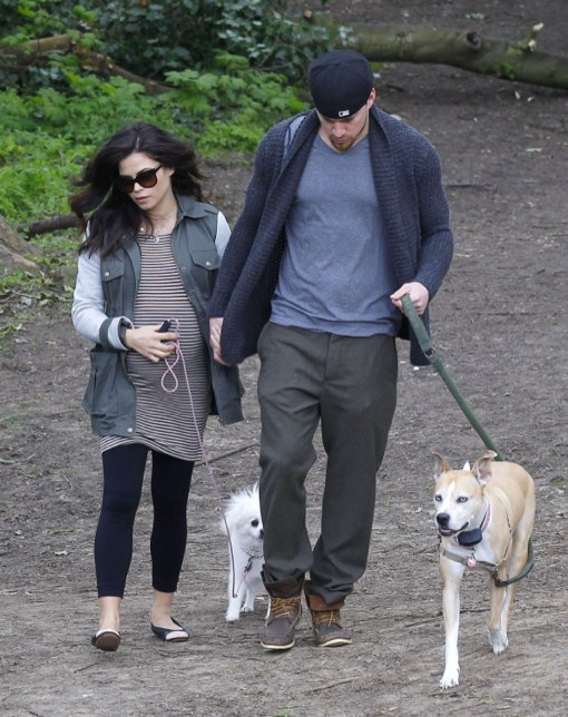 Channing & Jenna Tatum Enjoy a London Dog Stroll