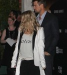 Fergie & Josh Duhamel Leaving Event In Los Angeles